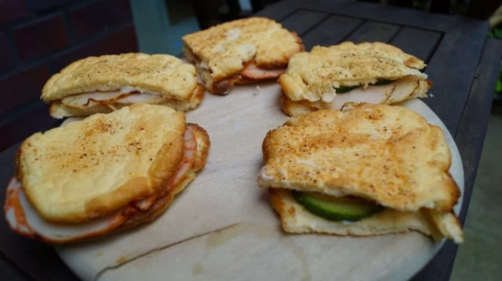 Low Carb Sandwich - My Oopsie Sandwiches