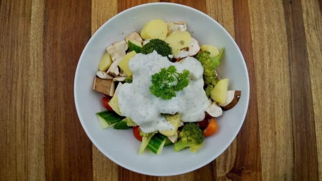 Protein Potato Salad