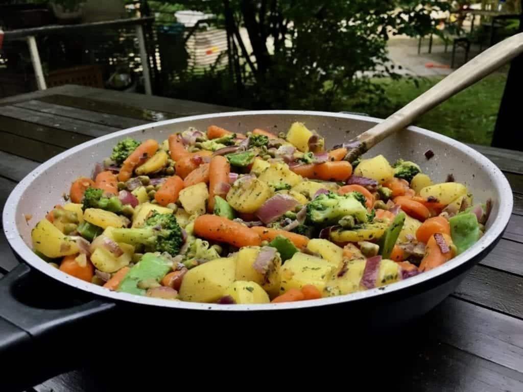 Healthy Vegetable Pan