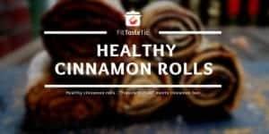 "Healthy cinnamon rolls - ""Franzbrötchen"" meets cinnamon bun"