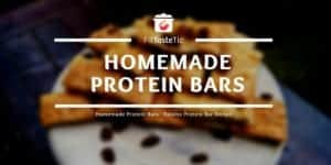 Homemade Protein Bars - Raisins Protein Bar Recipe