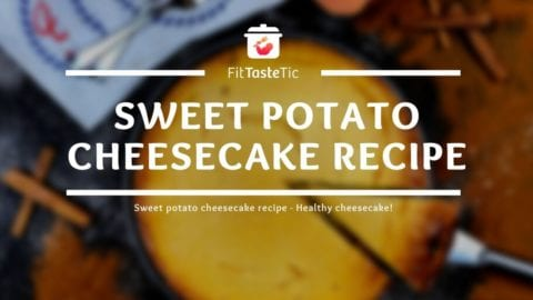 Sweet Potato Cheesecake Recipe - Healthy Sweet Potato Cake!