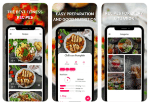 Fittastetic recipes app