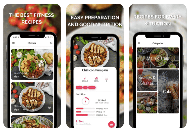 The best fitness recipes app let's get better together