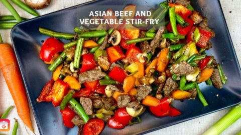 Asian Beef and Vegetable Stir-Fry - Healthy beef recipe