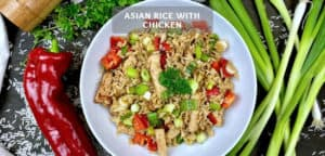 Asian Rice With Chicken