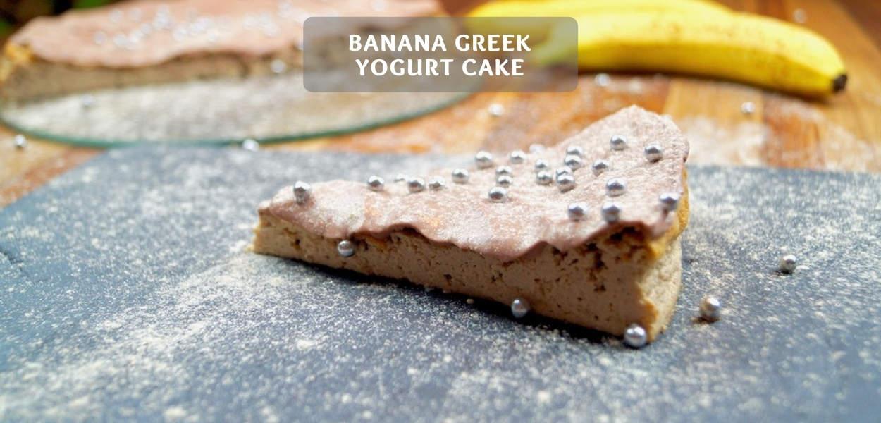 Banana Greek yogurt Cake