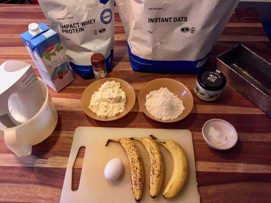 Bananabread ingridients