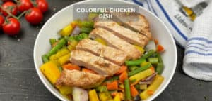 Colorful Chicken Dish