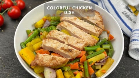 Light & Delicious Chicken Dish: Colorful Chicken