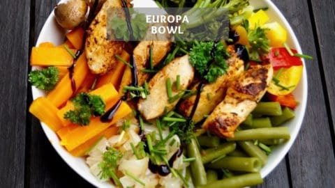 Europa Bowl - Healthy Buddha Bowl recipe