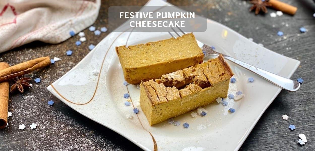 Festive Pumpkin Cheesecake