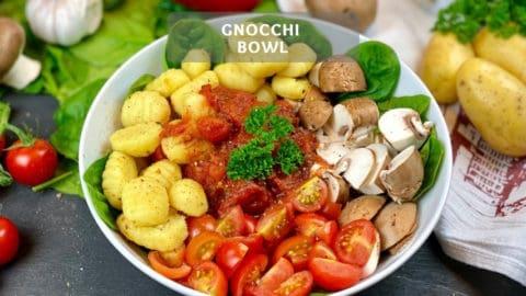 Gnocchi Bowl - Healthy Bowl Recipe