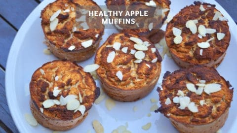Healthy Apple Muffin Recipe - Healthy Muffins