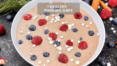 Healthy Pudding-Oats - Easy and Quick!