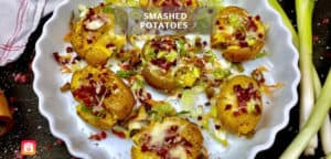 Healthy Smashed Potatoes