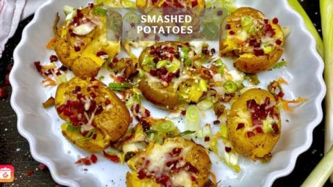 Smashed Potatoes – Delicious Oven Potatoes