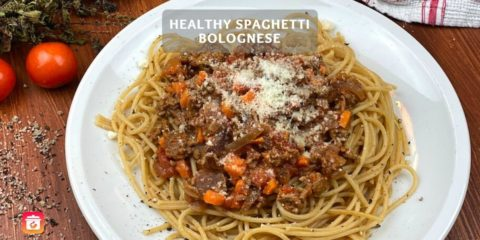 Healthy Spaghetti Bolognese – Healthy Spaghetti Recipe