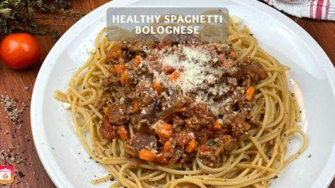 Healthy Spaghetti Bolognese - Healthy Spaghetti Recipe
