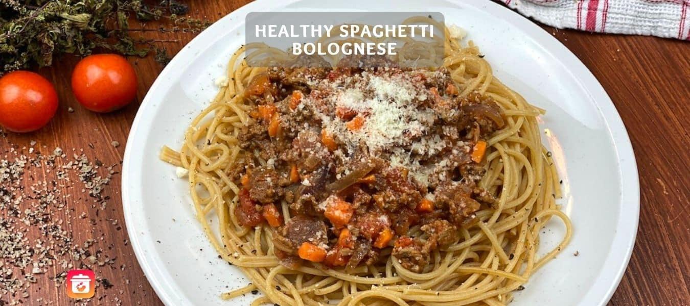 Healthy Spaghetti Bolognese