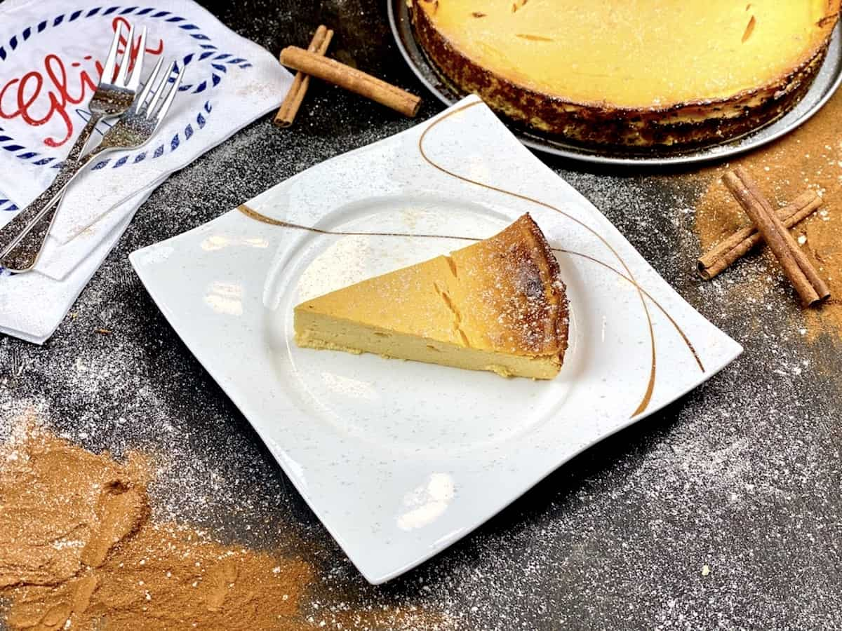 Healthy Sweet-Potato Cheesecake