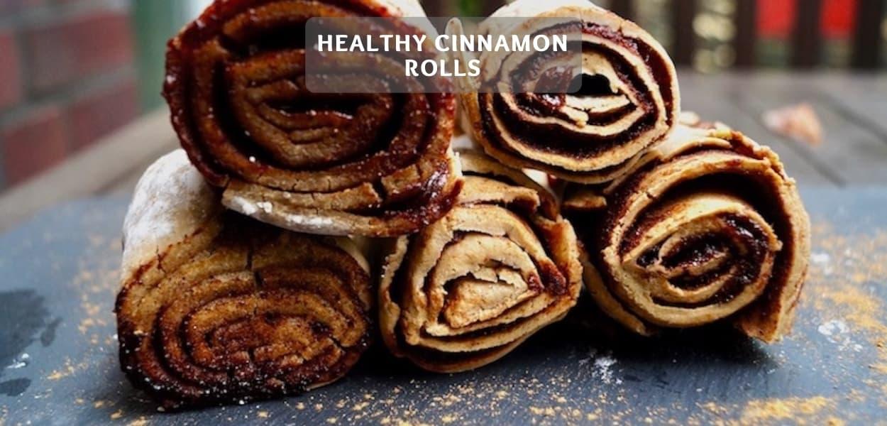 Healthy cinnamon rolls – Franzbrötchen meets cinnamon bun
