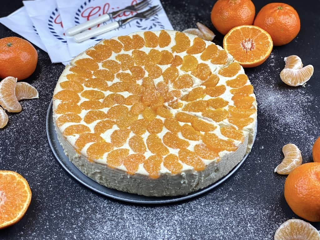 Healtyh cheesecake without bottom