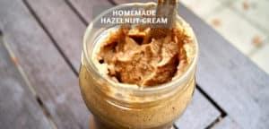 Homemade Hazelnut Cream