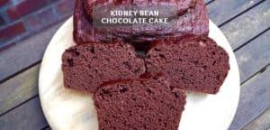 Kidney Bean Chocolate Cake