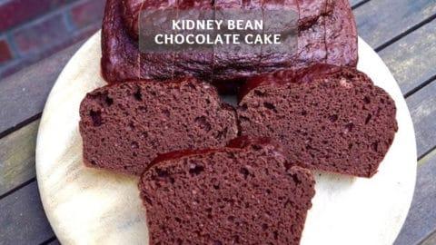 Kidney Bean Chocolate Cake Recipe - Healthy Chocolate Cake