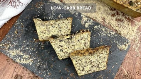 The Number #1 Low-Carb Bread - Healthy Low Carb Protein Bread Recipe
