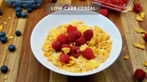 Make your own Low-Carb Cereal - Low-Carb Cereal Recipe