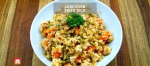 Low-Carb Fried Rice Recipe
