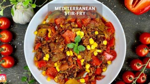 Mediterranean Vegetable Stir-Fry - Mediterranean Stir-Fry
