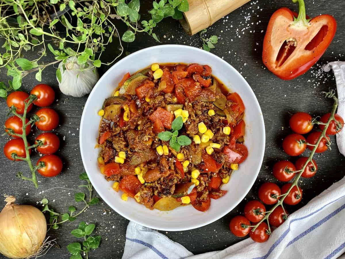 Mixed Veggie Stir-Fry
