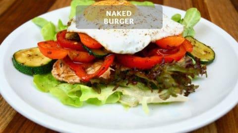 Naked Burger - Low-Carb Burger Recipe