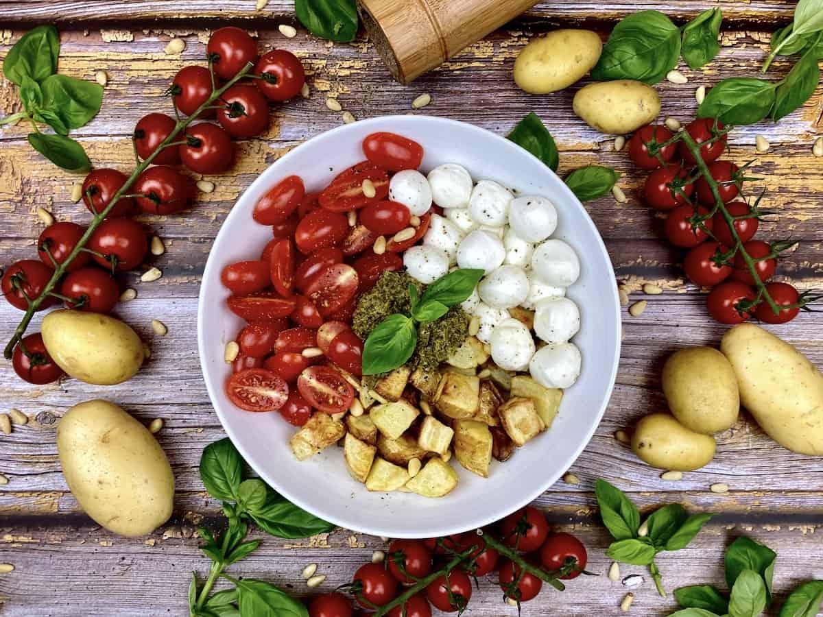 Pesto-Potato-Bowl