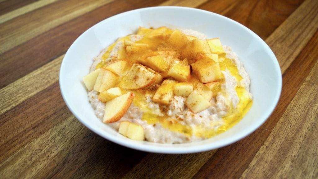 Porridge with Apple