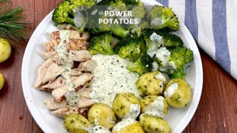 Healthy Oven Roasted Potatoes - Power Potatoes
