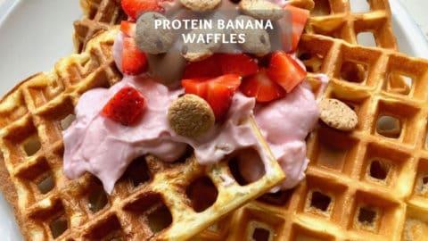 Protein Waffles - Healthy Banana Waffle Recipe