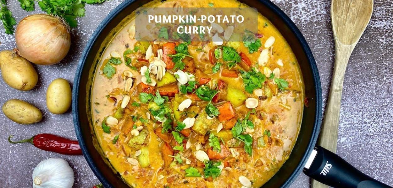 Pumpkin-Potato Curry