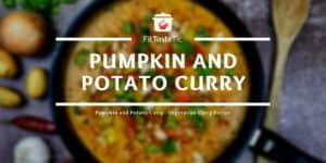 Pumpkin and Potato Curry