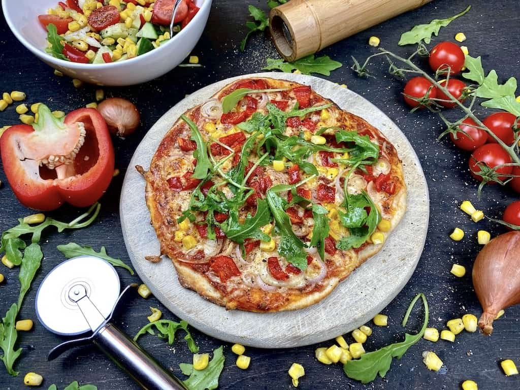 Quick Vegetarian Pizza