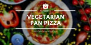 Quick Veggie Pan Pizza Recipe