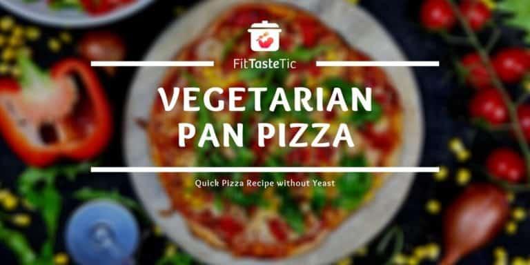 Quick Veggie Pan Pizza Recipe