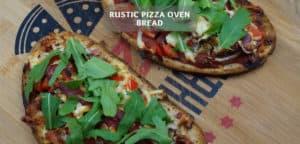 Rustic Pizza Oven Bread