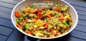 Vegetable Nasi Goreng