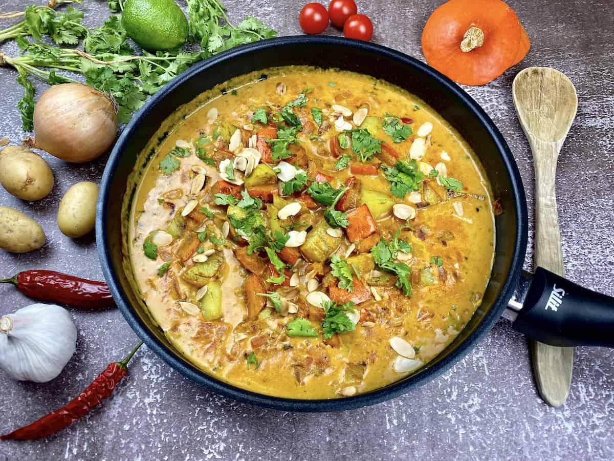 Vegetarian Pumpkin-Potato Curry