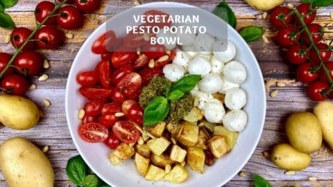Pesto Potato Bowl - Vegetarian Buddha Bowl