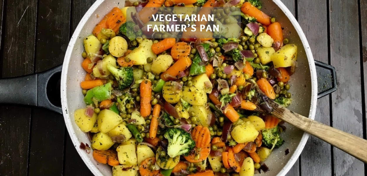 Vegetarian farmer's pan